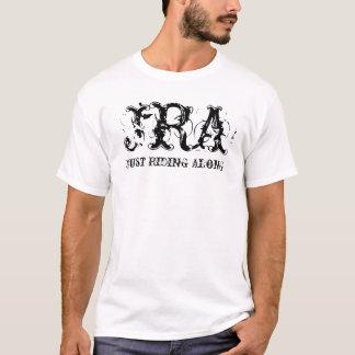 JRA, gerade entlang reiten T-Shirt