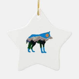 jTHE STOLZ-FAKTOR Keramik Stern-Ornament