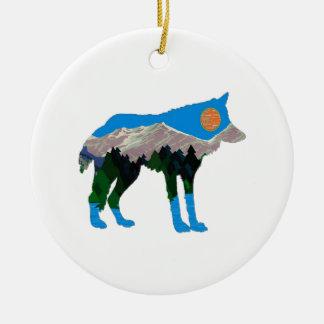 jTHE STOLZ-FAKTOR Rundes Keramik Ornament