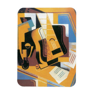 Juan Gris - photographie de la guitare Magnets