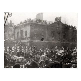 Jubiläum-Prozession in Whitehall, 1887 Postkarte