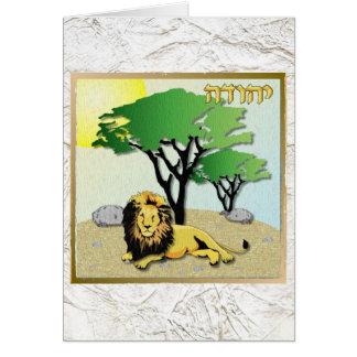 Judaika 12 Stämme Israel Judah Karte