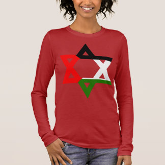 Juden für Palästina Langarm T-Shirt