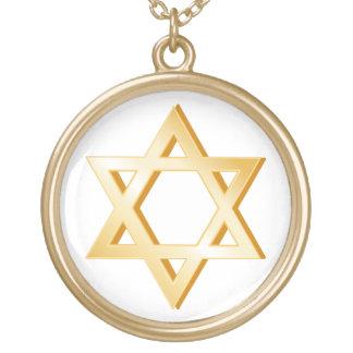 Judentums-Symbol Vergoldete Kette
