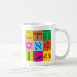 Jüdische Pop-Kunst Tasse