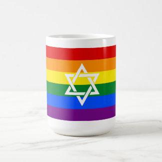 Jüdische Stolz-Tasse mit extravagantem Davidsstern Kaffeetasse