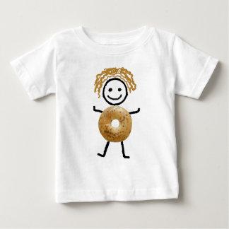 Jüdische T-Shirt-Kinder - Bagel-Kind Baby T-shirt