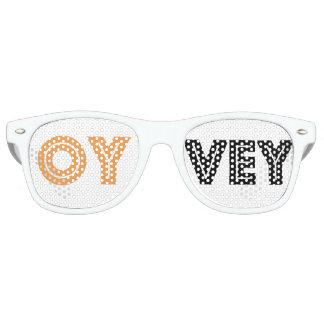 Jüdischen Gag Geschenk-Purim Schtick-Kvetchers Retro Sonnenbrillen