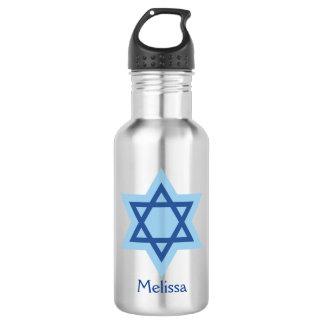 Jüdischer Davidsstern Trinkflasche