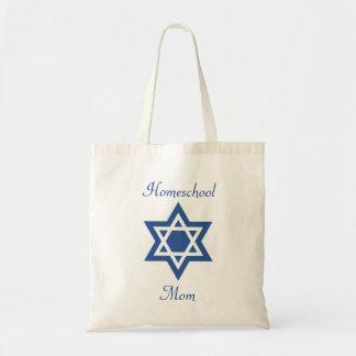 Jüdischer Homeschool Mamma-Davidsstern Tragetasche