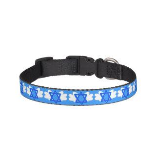 Jüdischer Stern mit Mitzvah Flügeln, Hundehalsband Leine