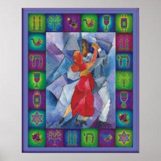 Jüdischer Tango Poster