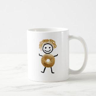 Jüdisches Geschenk-Kaffee Tasse-Bagel Kind Kaffeetasse