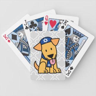 Jüdisches Labrador retriever Hündchen Chanukkas Bicycle Spielkarten