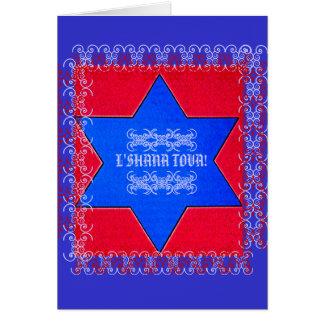 Jüdisches neues Jahr Karte