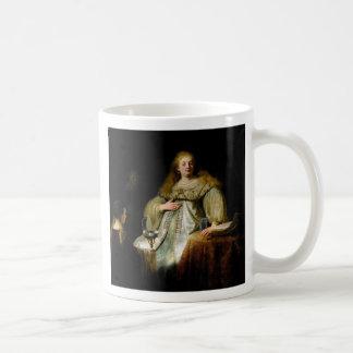 Judith am Bankett von Holofernes durch Rembrandt Kaffeetasse