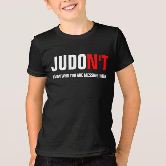 JUDO N'T weiß, wem Sie mit verwirren T-Shirt