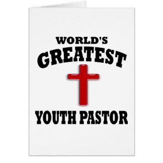 Jugend-Pastor Karte