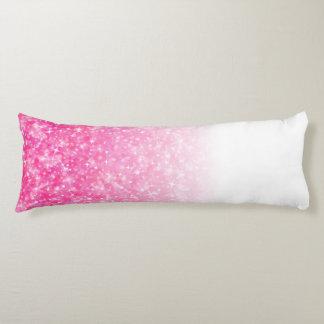 Jugendlich Tween-Mädchen-funkelnd rosa Glitter Seitenschläferkissen