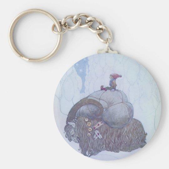 Julebocken Skandinavier-Folklore Schlüsselanhänger