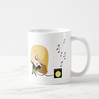 Jules der Sänger Kaffeetasse