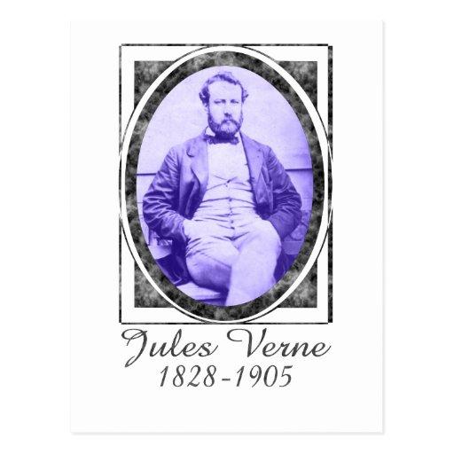 Jules Verne Postkarte