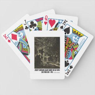 Jules Verne zwanzig tausend Ligen Begräbnis- Bicycle Spielkarten