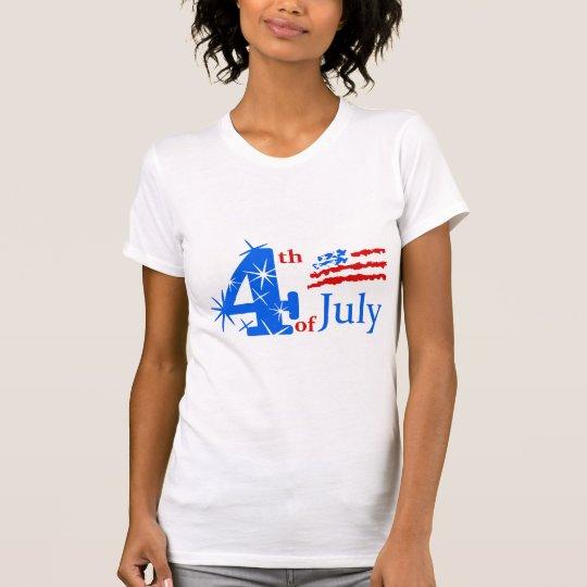 Juli 4. T-Shirt