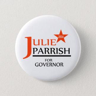 Julie Parrish für Gouverneur-Button Runder Button 5,7 Cm