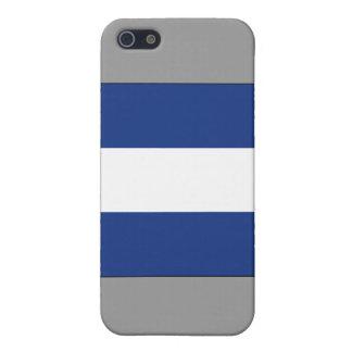 Juliet (j) Signal-Flagge iPhone 5 Schutzhülle