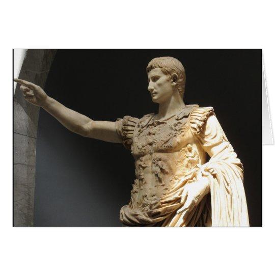Julius Cäsar Grußkarte