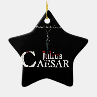 Julius Cäsar Stern-Verzierung Keramik Ornament