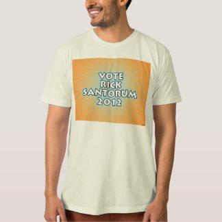 july11_vote_santorum_2012Vote Rick Santorum T-Shirt