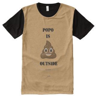 Julz T-Shirt Mit Komplett Bedruckbarer Vorderseite