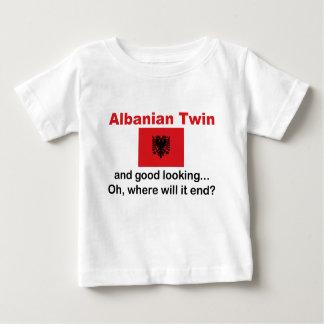 Jumeau albanais beau tee shirt