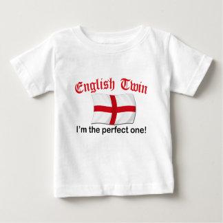 Jumeau anglais parfait t shirts
