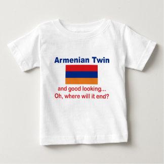 Jumeau arménien beau t shirts