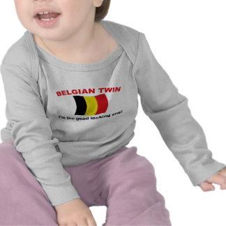 Jumeau belge beau t-shirts