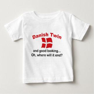 Jumeau danois beau t-shirt