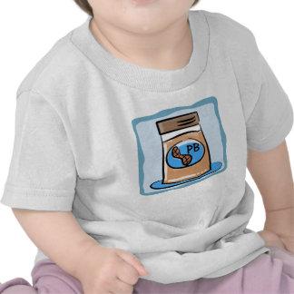Jumeau de beurre d'arachide/T-shirt d'enfant de mê