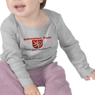 Jumeau de Bohème beau T-shirt