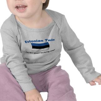 Jumeau estonien beau t-shirt