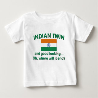 Jumeau indien beau tshirt