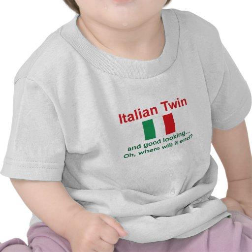 Jumeau italien beau t-shirt