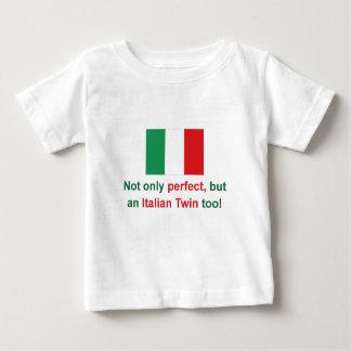 Jumeau italien parfait t-shirt pour bébé