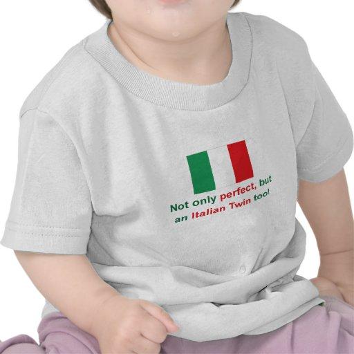 Jumeau italien parfait t-shirts