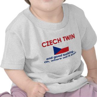 Jumeau tchèque beau t-shirts