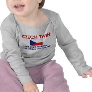 Jumeau tchèque beau t-shirt