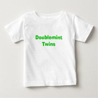 Jumeaux de Doublemint T-shirt Pour Bébé