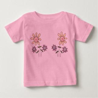 Jumeaux floraux tshirts